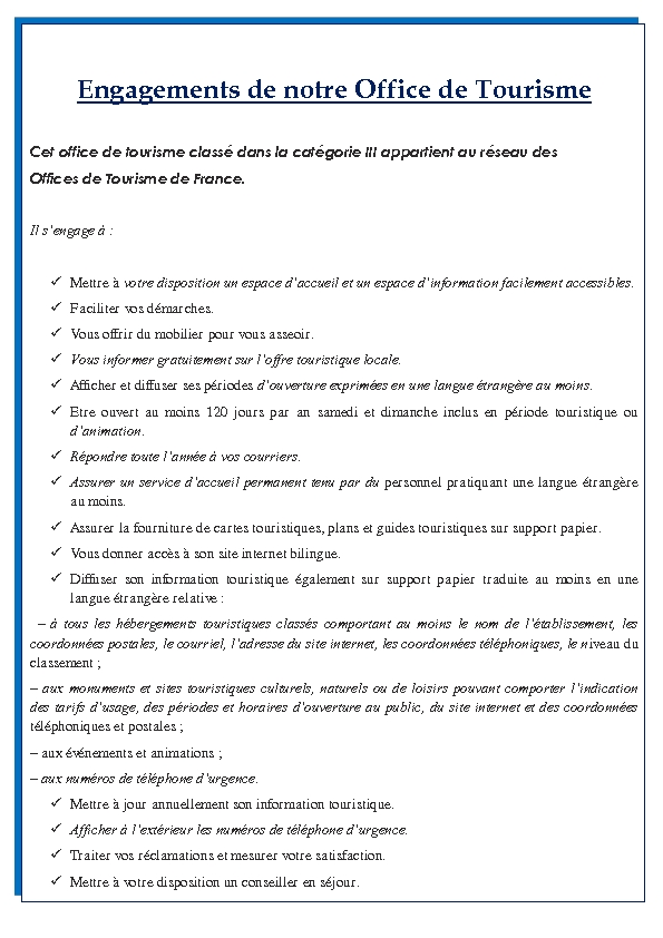 Office de tourisme de matemale le village engagements - Allegre les fumades office de tourisme ...